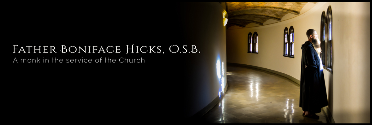Father Boniface Hicks, OSB
